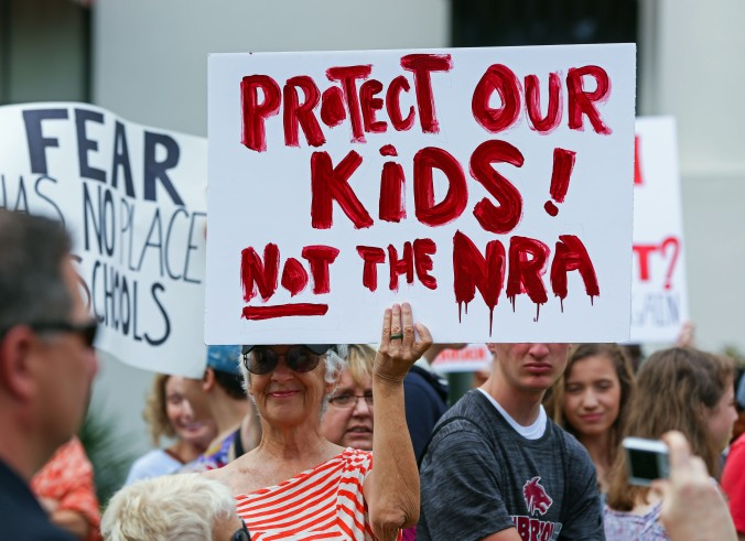 shutterstock_Protect Kids, Not NRA